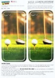 Graphics and More Golf Ball Club - Golfing Protective Skin Sticker Case for Apple iPhone 5C - Set of 2 - Non-Retail Packaging - Opaque