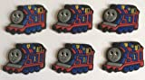 Thomas the Tank Engine Shoe Charms Set of 6 - suitable for Crocs Jibbitz * 63 *