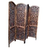 Aarsun Handcrafted Wooden Partition Screen