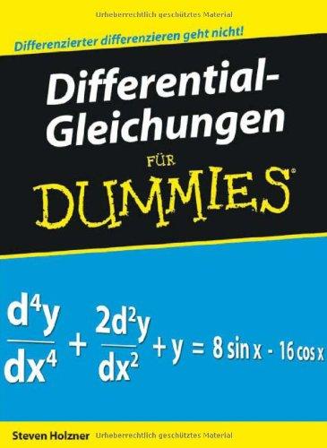 Differentialgleichungen Für Dummies Download Pdf Judith Muhr