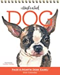 Illustrated Dog Page-A-Month Desk Eas...