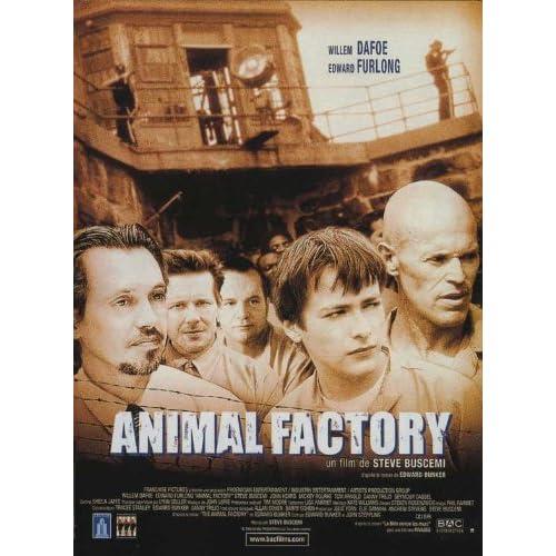 Amazon.com: Animal Factory Movie Poster (11 x 17 Inches - 28cm x 44cm