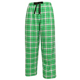 Boxercraft - Women\'s Crozy Flannel Pajama Louge Pants With Pockets (Kelly Green Small)