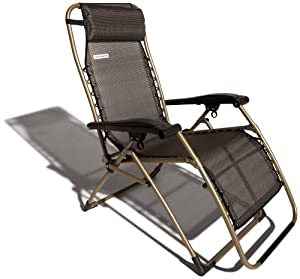 Chair dark brown with champagne frame patio lounge chairs patio