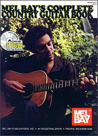 Mel Bay Complete Country Guitar Book: Complete Book & CD Set