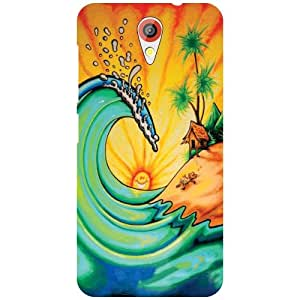 Back Cover For HTC Desire 620G -(Printland)