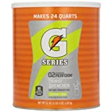 Buy GATORADE G SERIES PERFORM 02 THIRST QUENCHER POWDER DRINK MIX LEMON-LIME MAKES 24 QUARTS AMERICAN IMPORT Comparison-image