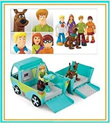 Scooby Doo 5-pack Figures &amp; Mystery Machine Van