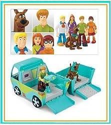 Scooby Doo 5-pack Figures & Mystery Machine Van