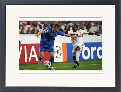 Framed Prints of Soccer - UEFA Champions League - Group G - VfB Stuttgart v Rangers - from Rangers