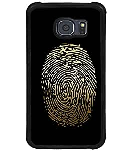 PRINTSWAG THUMB PRINT Designer Back Cover Case for SAMSUNG GALAXY S6