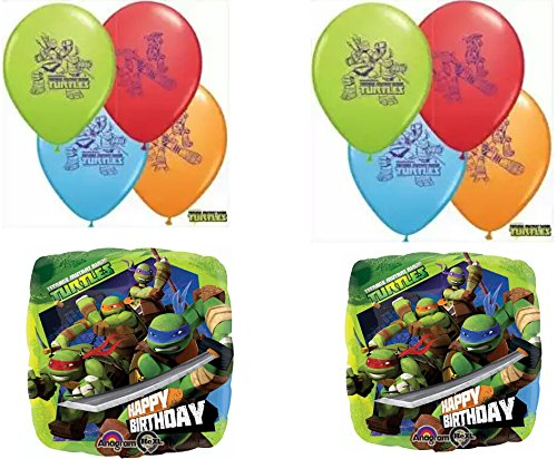 TMNT Teenage Mutant Ninja Turtles Balloon Decoration - 1