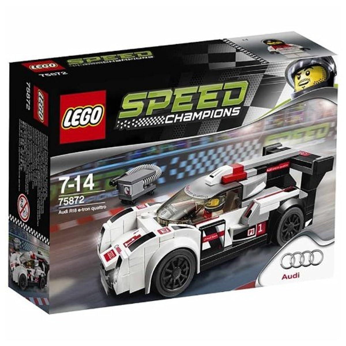 [해외] 레고 (LEGO) 스피드 챔피언 아우디 R18  E-TRON 콰트로(quattro) 75872-75872 (2016-03-04)