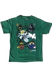 Lego Ninjago Rebooted 5 Ninja Boys T-Shirt Size 7/8