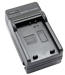 STK Canon LP-E10 Charger for Rebel T5, T3, EOS 1200D, 1100D, Kiss X70, and X50 Digital Cameras