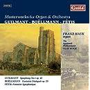 Masterworks for Organ & Orchestra