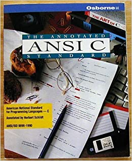 The Annotated Ansi C Standard American