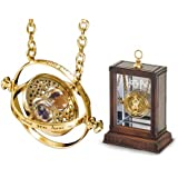 Nermix® Harry Potter Time-Turner Rotating Hourglass Pendant Alloy Necklace (Golden)