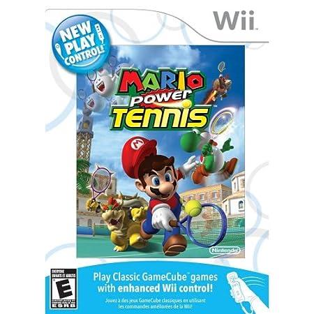 New Play Control! Mario Power Tennis