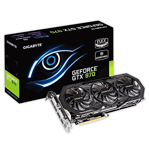 Gigabyte GeForce GTX 970 Overclocked GDDR5 Pcie Video Graphics Card, 4GB
