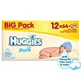 Huggies Pure Wipes Big Pack 12 x 64 per pack case of 2