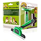 The FURfreak Dog and Cat Deshedding Brush & Undercoat Grooming Tool | Reduces Shedding by 90% | Best for Small, Medium and Large Dogs & Cats with Long or Short Hair | Veterinary Approved