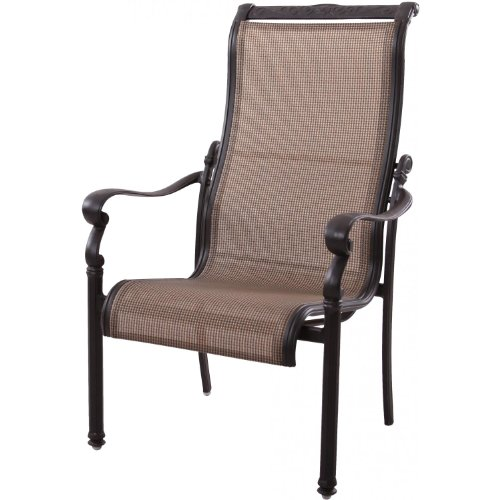 cheap darlee monterey sling patio dining chair antique bronze sale