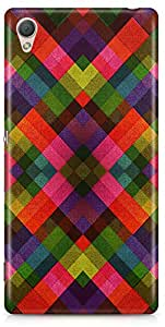 Sony Z4 Back Cover by Vcrome,Premium Quality Designer Printed Lightweight Slim Fit Matte Finish Hard Case Back Cover for Sony Z4