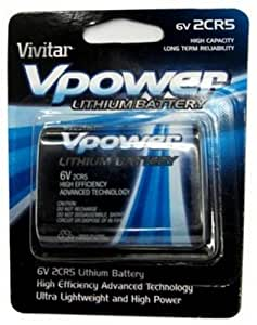 Vivitar VIV-2CR5 Lithium 2 CR Batteries