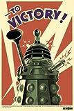 1art1 50016 Poster Doctor Who Daleks A la Victoire 91 x 61 cm