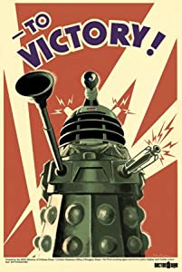 "1art1 Poster 50016 ""Doctor Who - To Victory"" 91 x 61 cm"