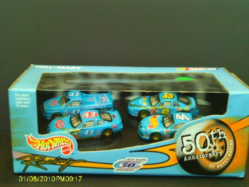 Hot Wheels Racing 50th Anniversary #43,43,44,45 - 1