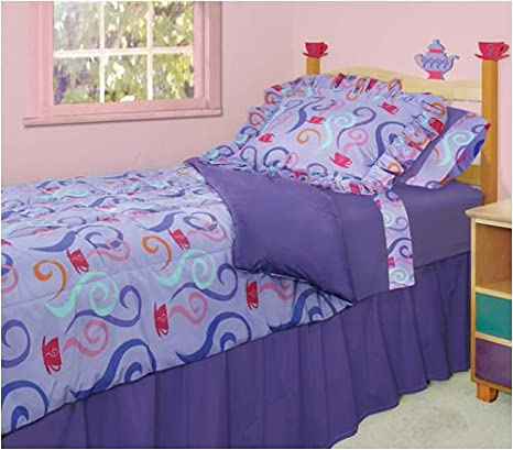 Room Magic Twin Bed, Girl Teaset Natural