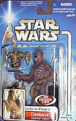 Star Wars The Empire Strikes Back Figure: Chewbacca (Cloud City Capture)