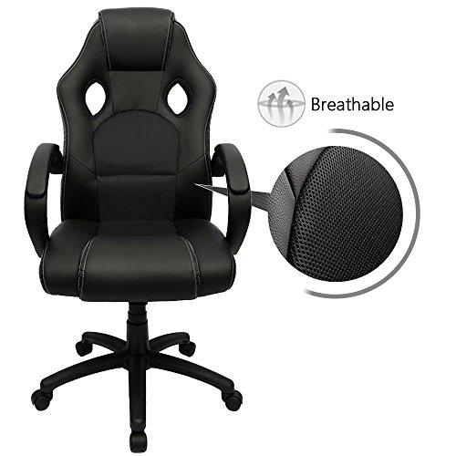 furmax gaming chair high back pu leather computer chair ergonomic