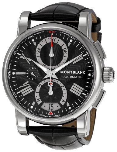 montblanc-timewalker-homme-44mm-chronographe-noir-cuir-bracelet-montre-102377