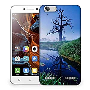 Snoogg Frozen Tree Designer Protective Phone Back Case Cover For Lenovo K5 Vibe