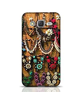 Stylebaby Shine Color Stone Jewellery Necklaces Samsung Galaxy S6 Edge Phone Case