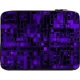 Snoogg Purple Digital 2422 10 To 10.6 Inch Laptop Netbook Notebook Slipcase Sleeve