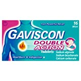 Gaviscon Double Action Tablets 16 Mint