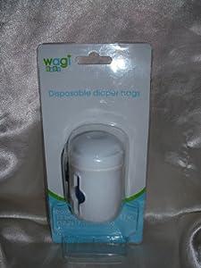 Wagi Diaper Sack Dispenser with bags