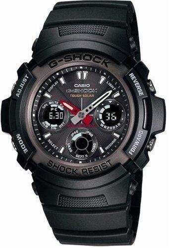 CASIO (カシオ) 腕時計 G-SHOCK タフソーラー 電波時計 MULTIBAND5 AWG-101-1AJF