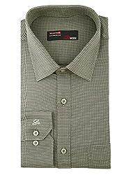 LA MODE Shirt-Formal Dark Green Shirt