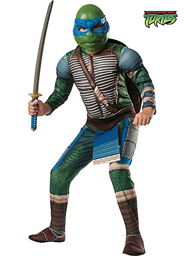 Rubies Teenage Mutant Ninja Turtles Deluxe Muscle-Chest Leonardo Costume