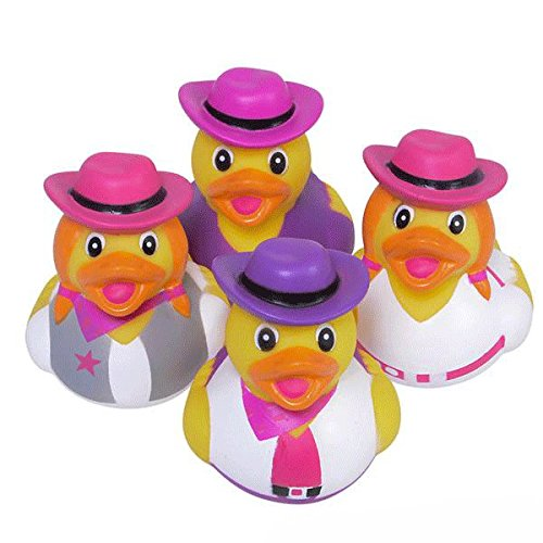 Cowgirl Rubber Ducks - 12 pc - 1