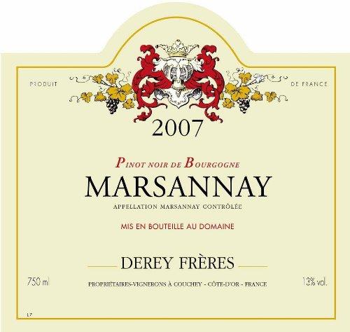 "2007 Domaine Derey Freres ""Les Genelieres,"" Marsannay 750 Ml"