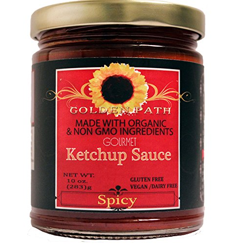 All Natural Golden Path Ketchup Sauce Spicy