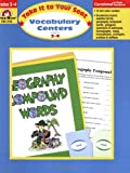 Vocabulary Centers, Grades 3-4