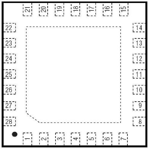 Maxim Integrated Products Max16821Aati+ Ic, Led Driver, Boost/Buck, Tqfn-28 (10 Pieces)