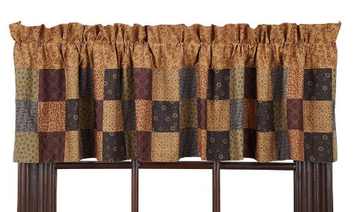 Lewiston Patchwork Valance Lined 16x72""